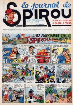 Le journal de Spirou # 208
