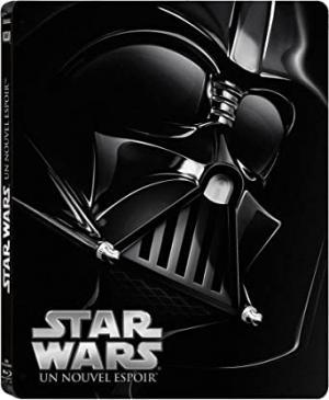 Star Wars : Episode IV - Un nouvel espoir (La Guerre des étoiles) édition Steelbook