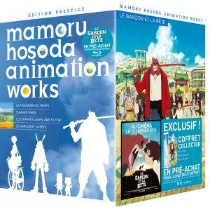 Mamoru Hosoda Animation Works édition Coffret - Blu-Ray