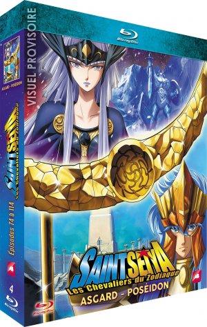 couverture, jaquette Saint Seiya - Les Chevaliers du Zodiaque 3 Blu-ray (AB Production)