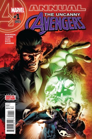 Uncanny Avengers édition Issues V3 - Annual (2015)