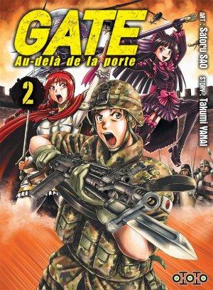 couverture, jaquette Gate - Au-delà de la porte 2  (Ototo Manga)