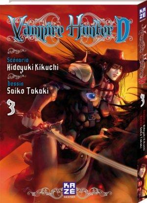 couverture, jaquette Vampire hunter D 3  (kazé manga) Manga