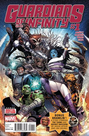 GUARDIANS OF INFINITY édition Issues V1 (2015 - 2016)
