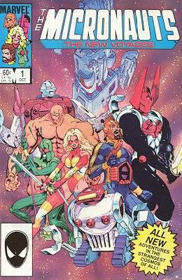 Micronauts - The New Voyages édition Issues
