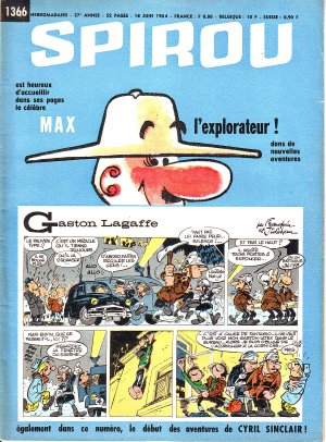 Album Spirou (recueil) # 1366