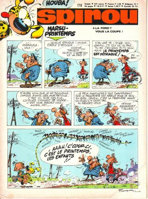 Le journal de Spirou # 1718