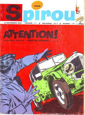 Le journal de Spirou # 1544