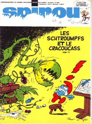 Album Spirou (recueil) # 1579