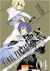 couverture, jaquette Final Fantasy Type-0 – Le Guerrier à l'épée de glace 4  (Ki-oon)