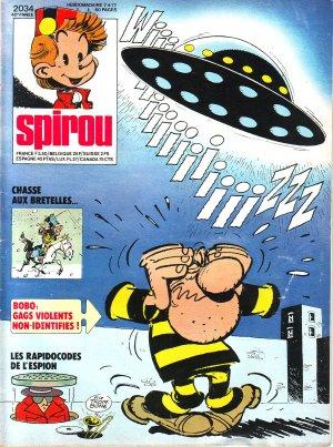 Album Spirou (recueil) # 2034