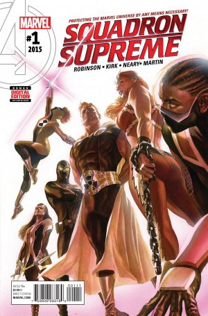 Squadron Supreme édition Issues V4 (2015 - 2017)