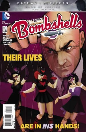 DC Comics Bombshells # 10 Issues