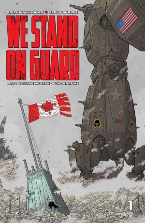 We Stand on Guard édition Issues V1 (2015)