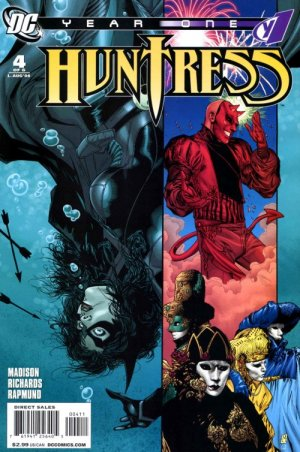 Huntress - Year One # 4 Issues