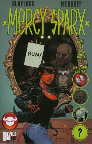 Mercy Sparx # 7 Issues V2 (2013 - 2016)