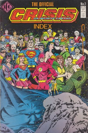 The Official Crisis on Infinite Earths Index édition Issues