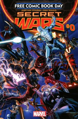 Free Comic Book Day 2015 - Secret Wars # 1 Issues