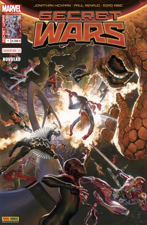 Secret Wars édition Kiosque (2016)