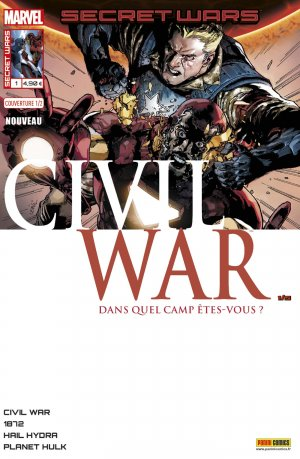 Secret Wars - Civil War édition Kiosque (2016)