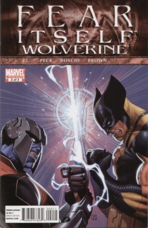 Fear Itself - Wolverine # 2 Issues