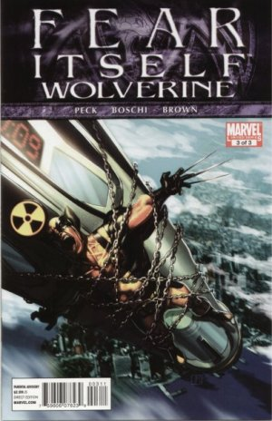 Fear Itself - Wolverine # 3 Issues