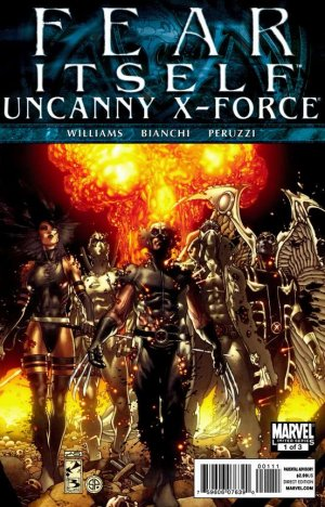Fear Itself - Uncanny X-Force # 1 Issues