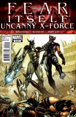 Fear Itself - Uncanny X-Force # 2 Issues