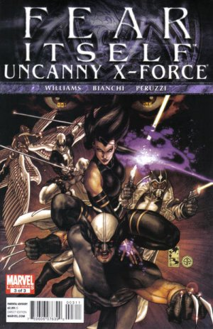 Fear Itself - Uncanny X-Force # 3 Issues