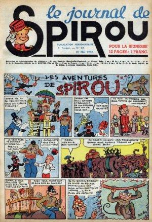 Le journal de Spirou # 215