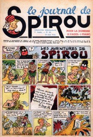 Le journal de Spirou # 218