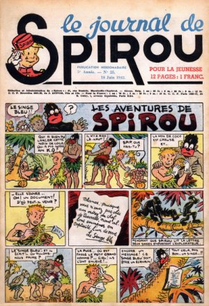 Album Spirou (recueil) # 218