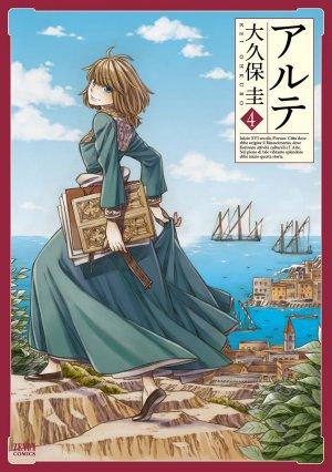 couverture, jaquette Arte 4  (Tokuma Shoten) Manga