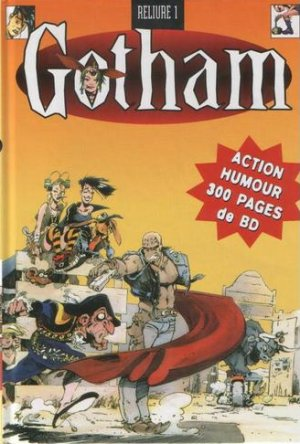 Gotham édition TPB hardcover (cartonnée)