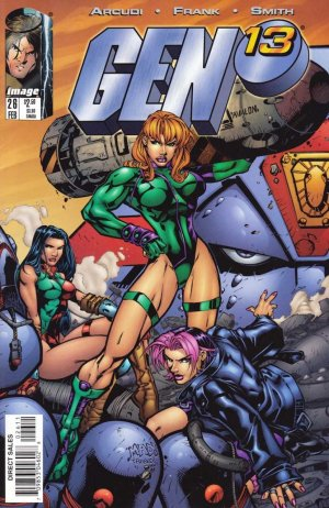 Gen 13 édition Issues V2 (1995 - 2002)