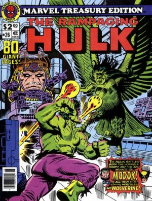 Marvel Treasury Edition # 26 Issues