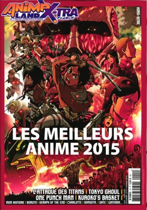 Animeland édition Anime Land X-tra - Best of 2015