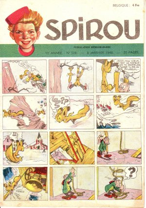 Album Spirou (recueil) # 508