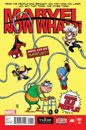 Marvel Now What?! édition Issues