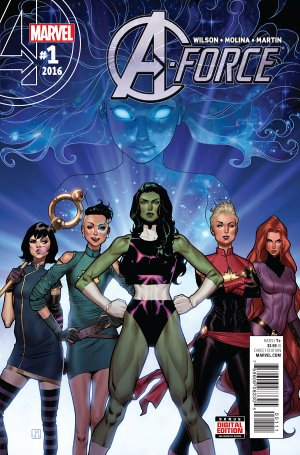 A-Force # 1 Issues V2 (2016)