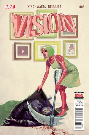 La Vision # 3 Issues V2 (2015 - 2016)