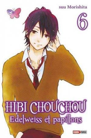 couverture, jaquette Hibi Chouchou - Edelweiss et Papillons 6  (Panini manga)