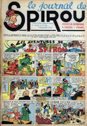 Le journal de Spirou # 229