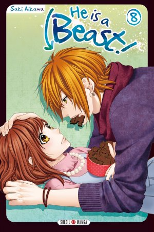 couverture, jaquette He is a beast! 8  (soleil manga) Manga