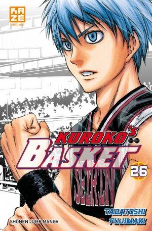 couverture, jaquette Kuroko's Basket 26  (kazé manga)