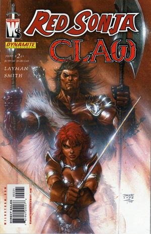 Red Sonja / Claw - The Devil's Hands édition Issues