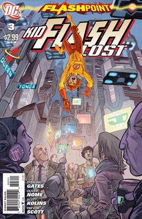 Flashpoint - Kid Flash Lost # 3 Issues