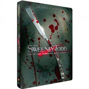 Sweeney Todd : Le Diabolique Barbier de Fleet Street édition Steelbook