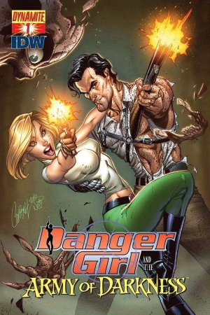 Danger Girl and the Army of Darkness édition Issues (2011 - 2012)