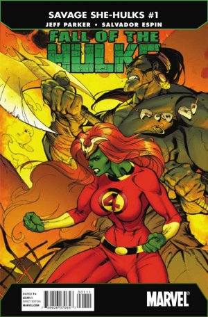 Fall of the Hulks - The Savage She-Hulks édition Issues